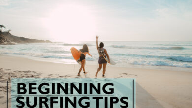 Beginning tips for surfers